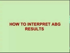 How to Interpret ABG Results - Arterial Blood Gas