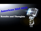 American Idol Finale Results 2012 - Youtube Problems