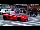 Lamborghini Aventador LP 700-7 - Revving in Paris 2013