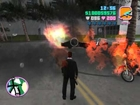 Gta Vice City (gameplay) - Carros explodindo