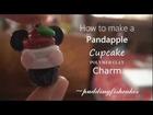 Pandapple Cupcake Polymer Clay Charm Tutorial