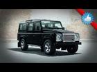 2015 Land Rover Defender Black & Silver Pack for Geneva