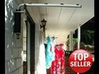 Versaline Slimline Clothesline - Wall Mounted Clothes Line