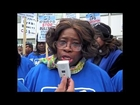 Progress Illinois: School Closing Protest Outside Of Chicago Urban League