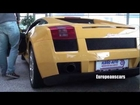 INSANE Lamborghini Gallardo Revving cold V10