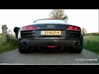 Audi R8 V10 Revving + Acceleration! + Downshifts! - 1080p HD
