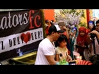 Aaron Aziz & Dwi suprise Bday Party