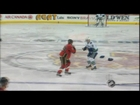 Rick Rypien vs Brandon Prust Oct 11, 2008