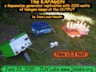 New test of the Kapagen v3.3 by Jean-Louis Naudin
