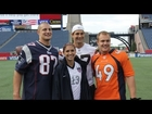 Alex Morgan Meets the Gronkowski Brothers