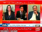 Veena Malik's Father with Iqrar ul Hassan ARY News Special part 1