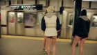 No Pants Day 2014 - NYC No Pants Subway Ride