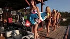 Wakeboard et filles sexy