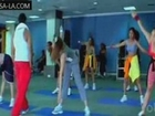 Bhavana & unknown Masala Girl Excercising Video...Masala Vid