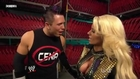 Maryse (c) and The Miz backstage