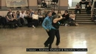 Championnat Europe 2011 West Coast Swing Blandine and Andrew