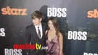 Hannah Ware at BOSS Premiere Arrivals - STARZ New TV Series